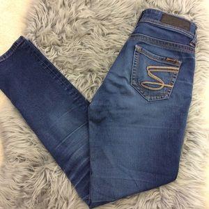 Seven7 S Pocket Skinny Jeans size 2